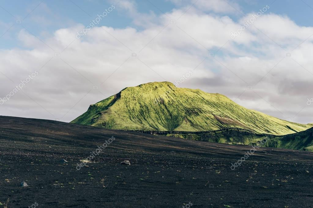 beautiful scenic majestic icelandic landscape