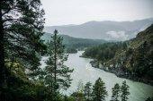Fotografie horská řeka