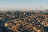 Fotografie horkovzdušné balóny
