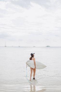 beach at ocean