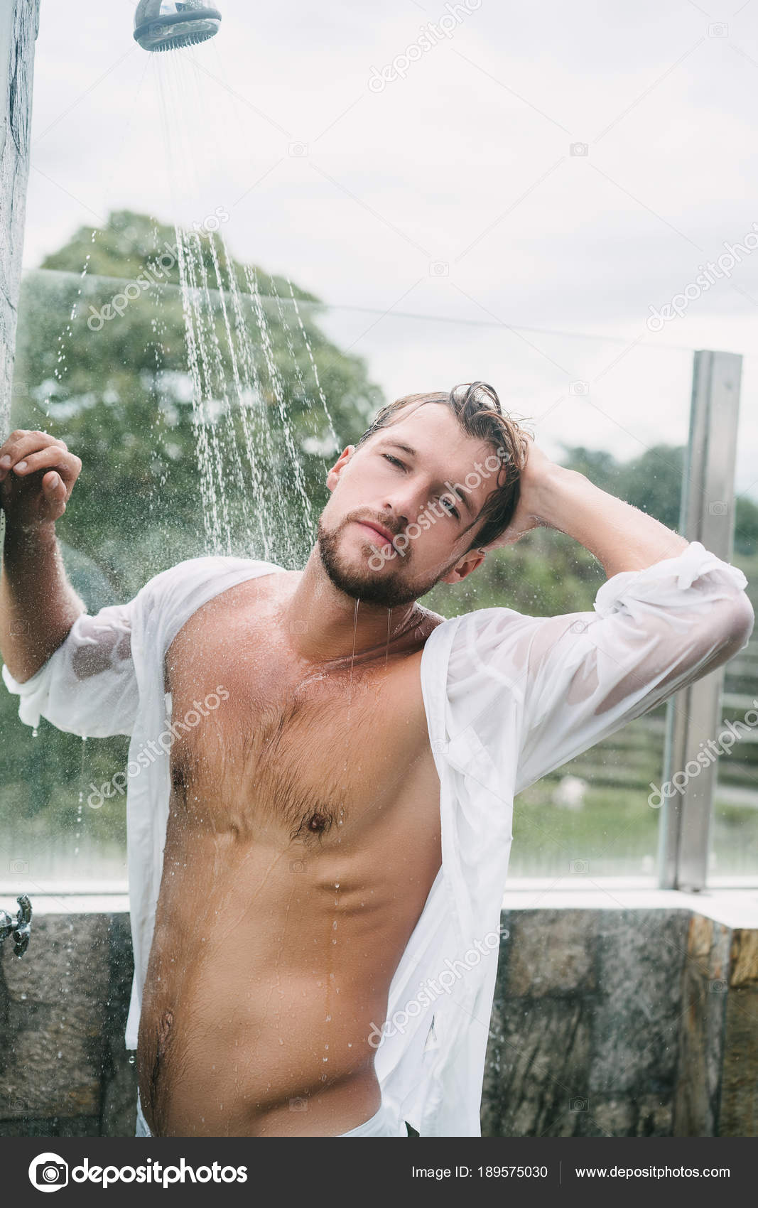 Sexy man — Stock Photo © YuliyaKirayonakBO #189575030