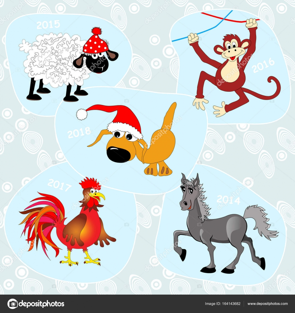 Banners set with chinese symbols stock vector ajnjuhfabyz 164143682 banners set with chinese symbols of new year chinese zodiac animals cartoon character blue abstract seamless background can be used for creating new buycottarizona Gallery
