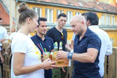 Corona Sunsets Session party in Zagreb, Croatia