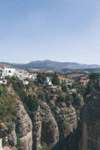 scenic view of buildings on rock, Ronda, spain