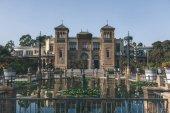 Fotografie view of museum in Maria Luisa Park, Seville, spain