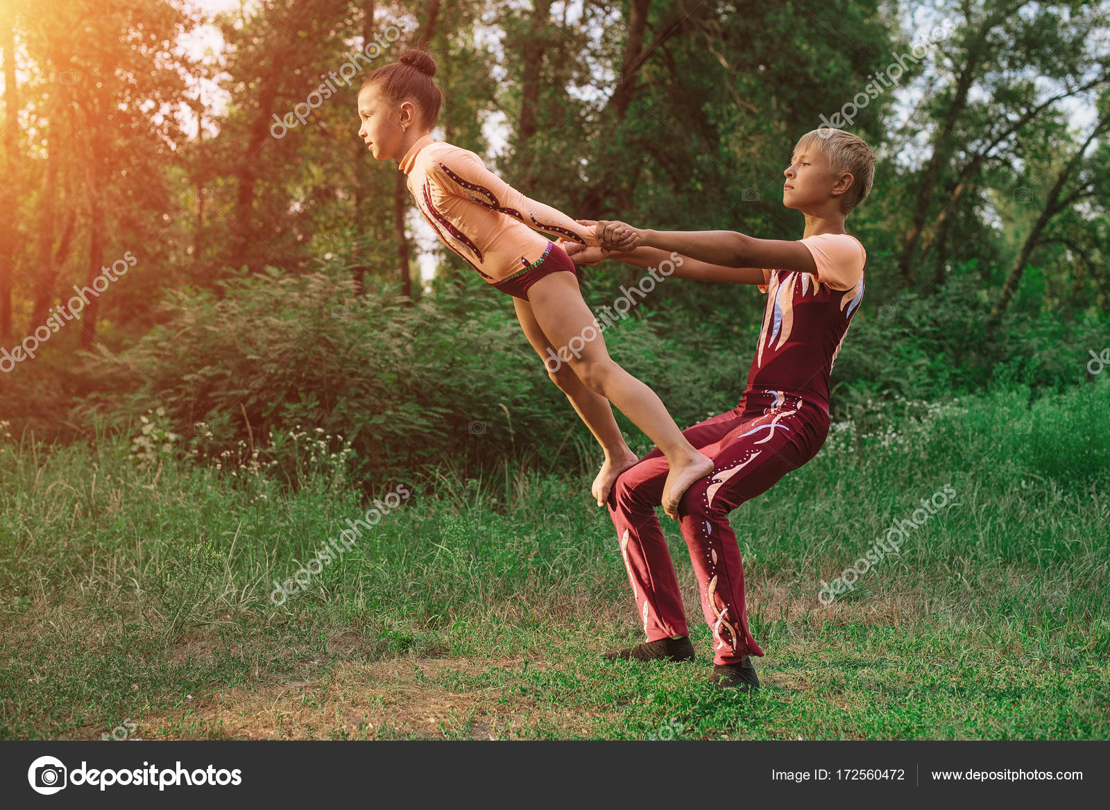 Акробаты гимнастки фото — img 9