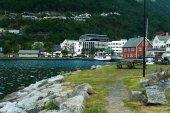 épületek a riverside, Norvégia