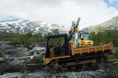 Norwegian technique in the mountains
