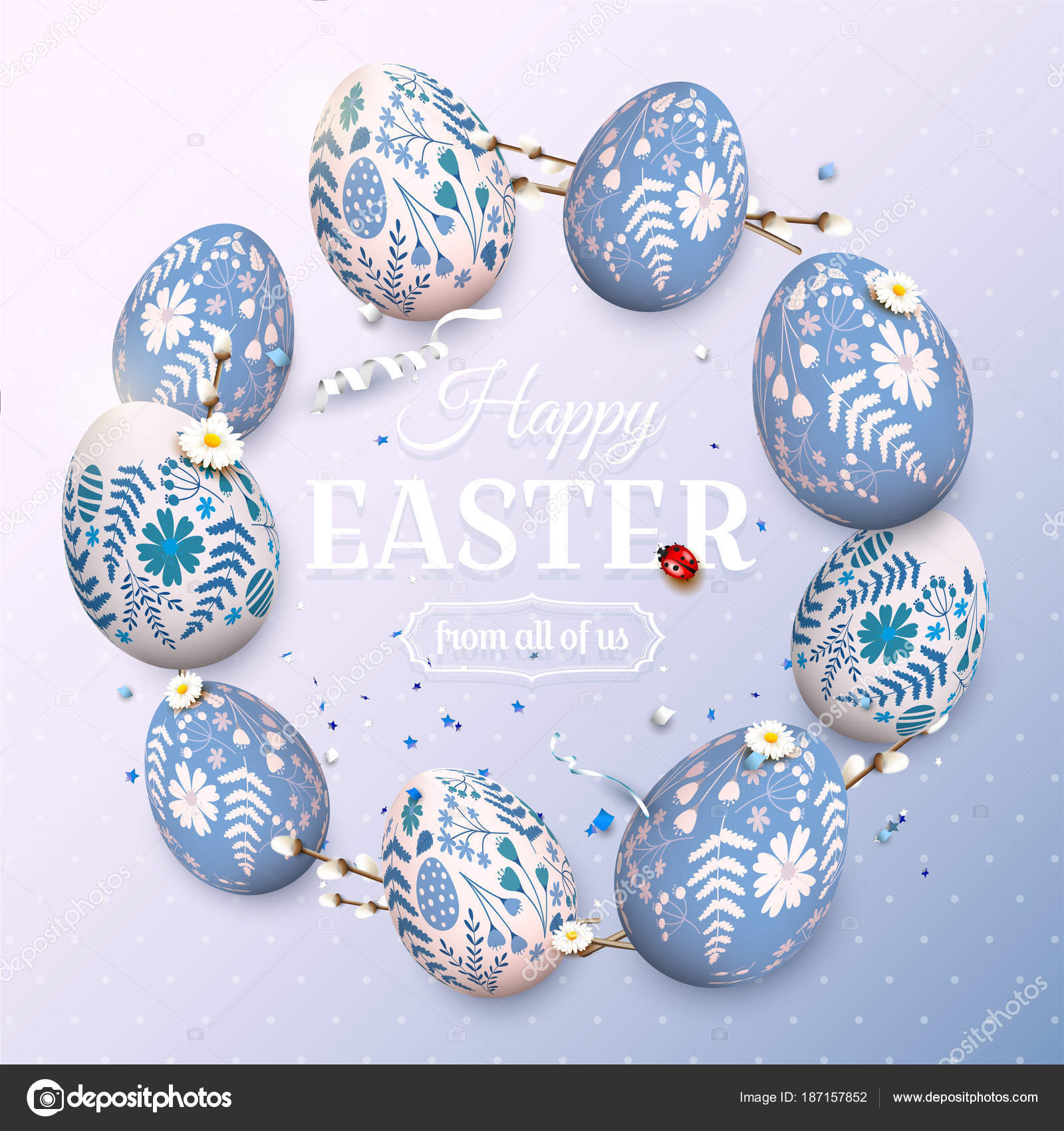 Traditional easter greeting card stock vector kaktus2536 187157852 traditional easter greeting card stock vector m4hsunfo
