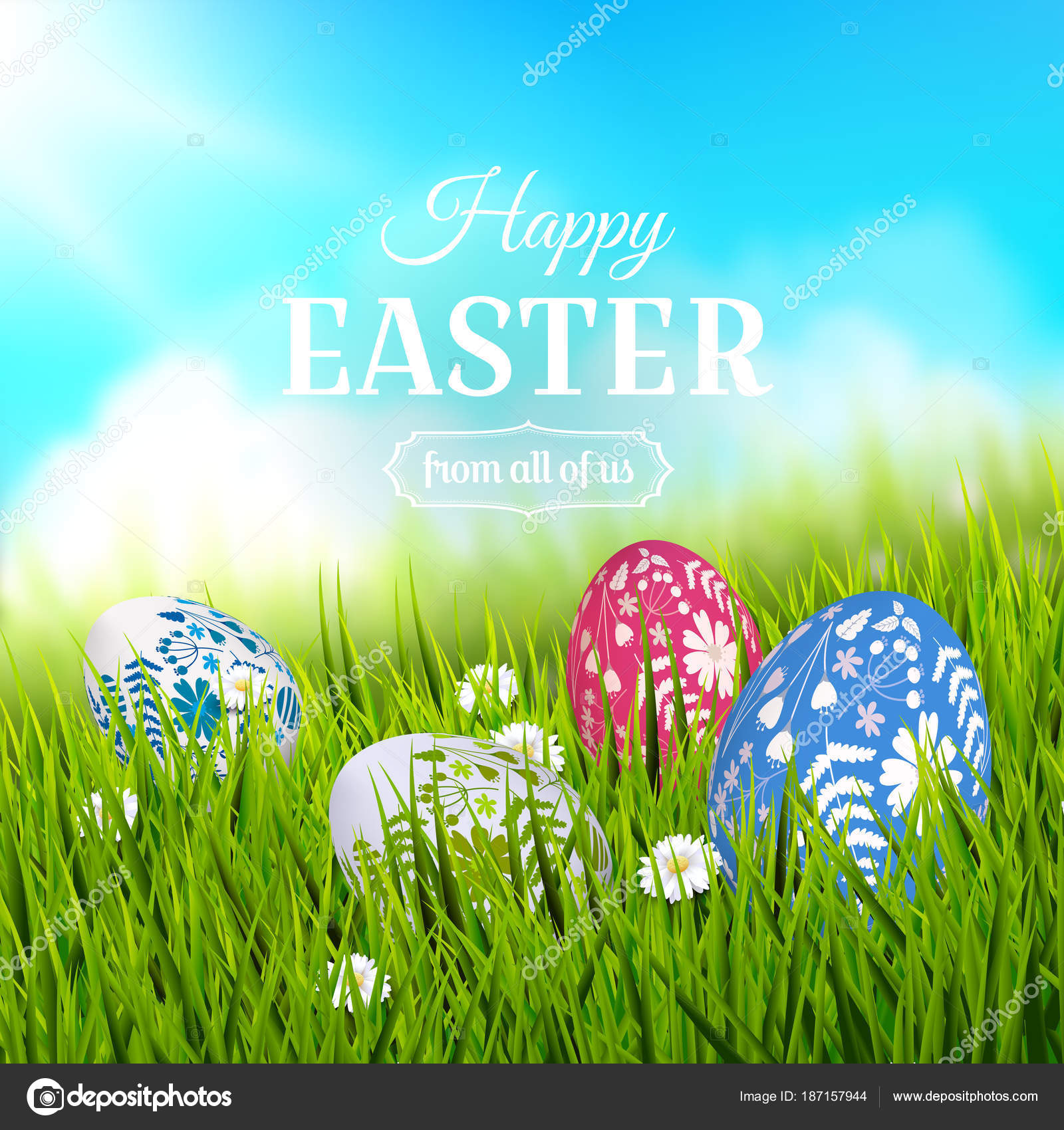 Traditional easter greeting card stock vector kaktus2536 187157944 traditional easter greeting card stock vector m4hsunfo Images
