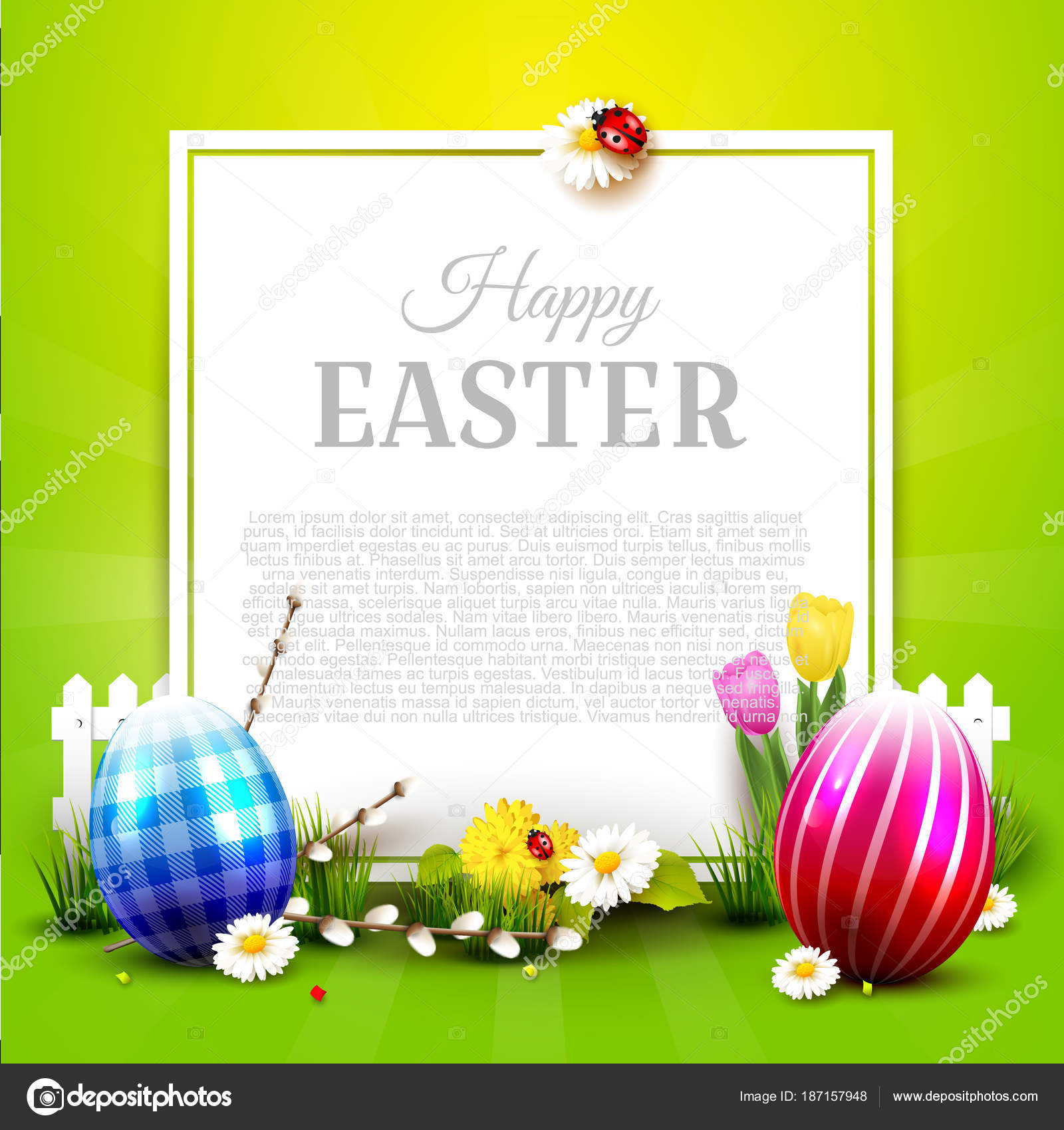 Traditional easter greeting card stock vector kaktus2536 187157948 traditional easter greeting card stock vector m4hsunfo