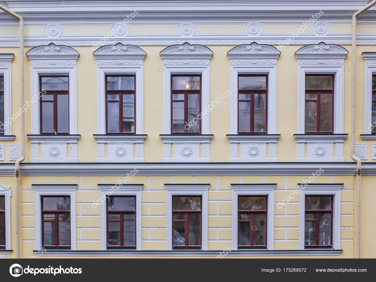 Fries Architektur vintage architektur klassischer stuck fassade reich verziert mit