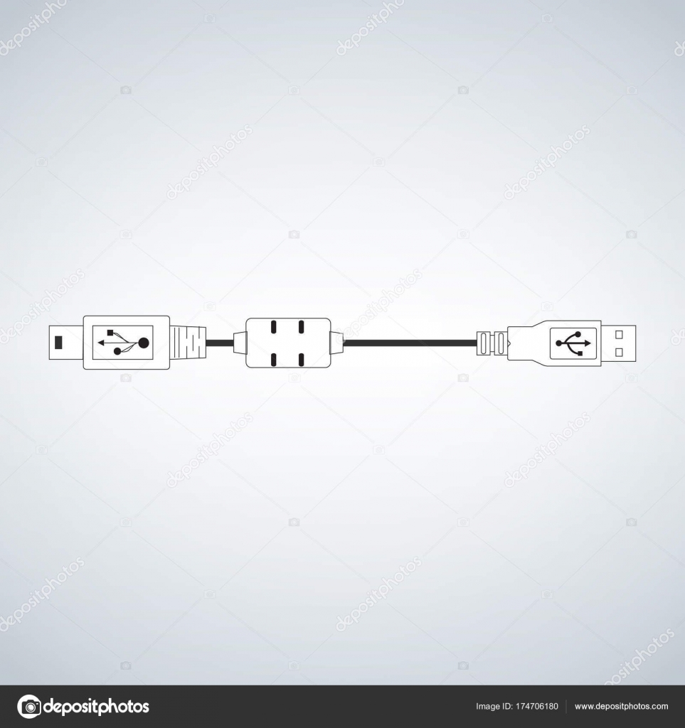 Usb micro cable for computer camera mobile devices — Stock Vector on iphone usb diagram, usb pinout diagram, usb ac adapter, usb serial adapter, usb electronic diagram, usb voltage diagram, usb charger schematic, usb plug diagram, usb to rs232 schematic adapter, usb port schematic, usb cable schematic, usb wiring diagram, usb pin diagram, usb to serial diagram, usb schematic wire, usb power diagram, usb cable wiring, usb system diagram, usb soldering diagram, usb cable pinout,
