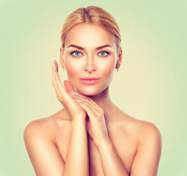 Beauty spa woman portrait.