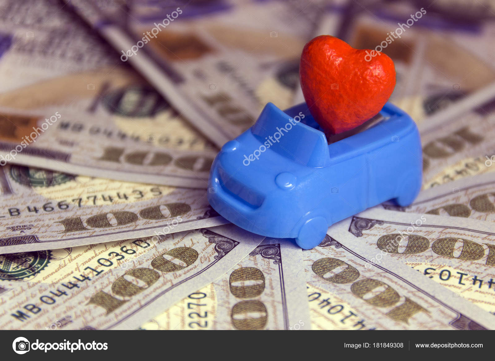 Concept Love For Money In The Car St Valentine S Day Costs For A