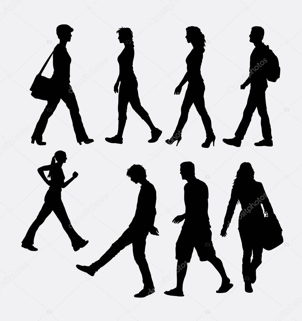 Just The Facts further Business People Silhouettes moreover Royalty Free Stock Photos Emotional Support Image762428 additionally Family Hiking Cartoon 1644145 likewise Man    ment 1985. on group of people walking clipart