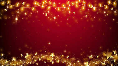 Christmas elegant light,red background