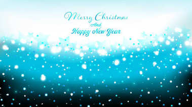 Blue elegant Christmas Background