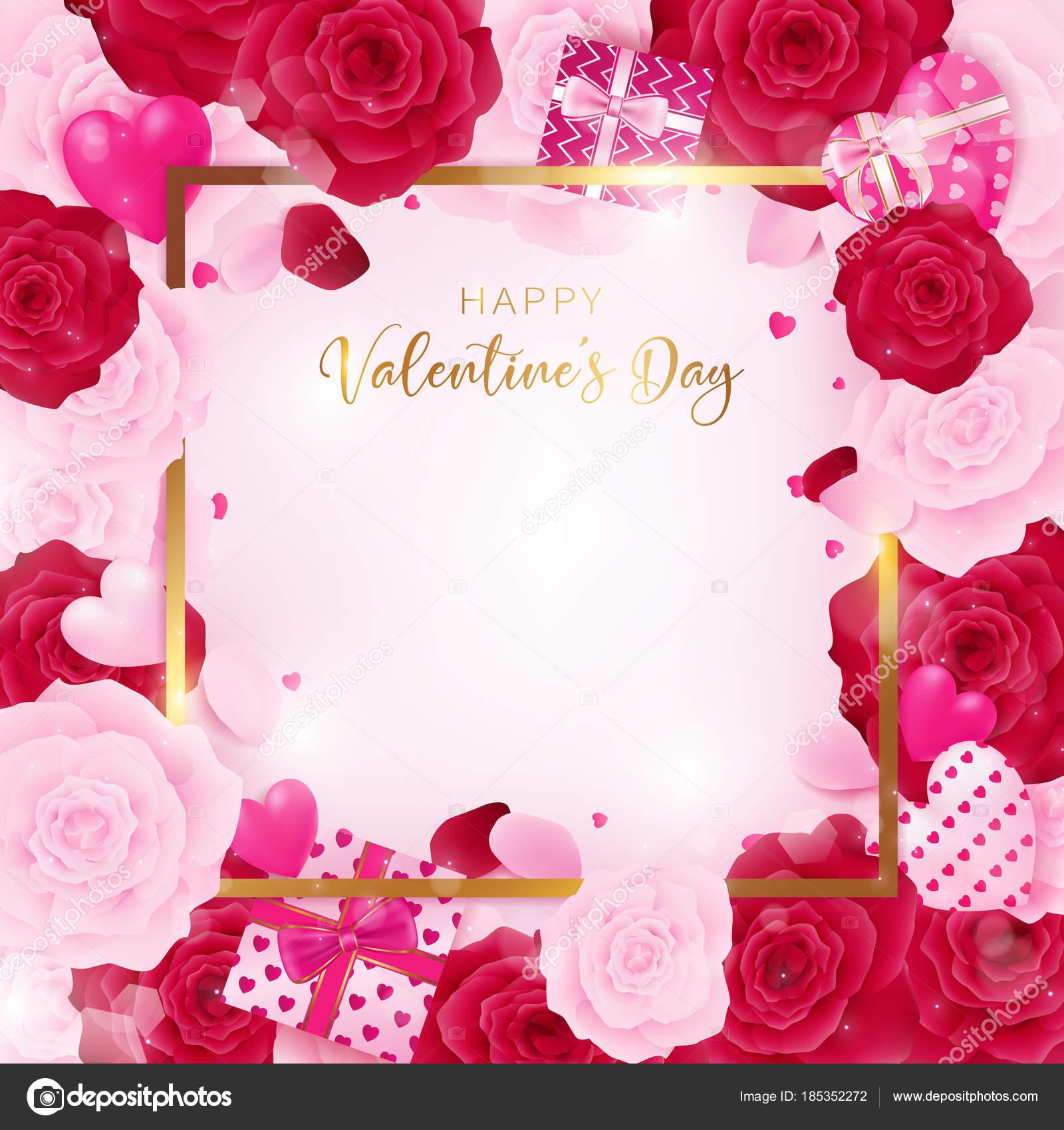 Großzügig Happy Valentinstag Vorlage Zeitgenössisch - Beispiel ...