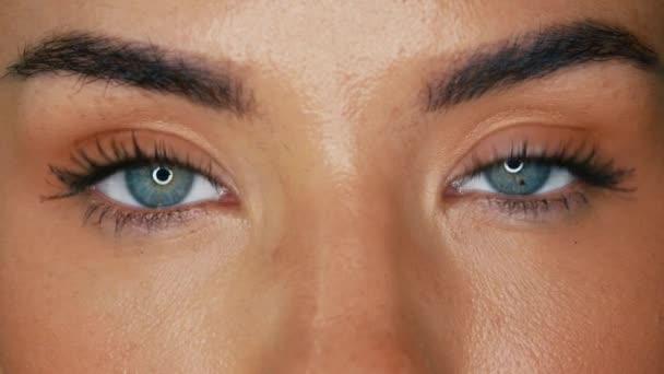 schöne Augen aus nächster Nähe