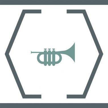 Trumpet simple icon