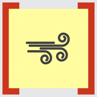 Wind weather icon