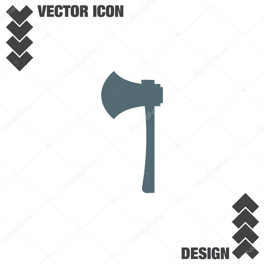 Axe tool icon