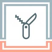 Photo Swiss knife sign