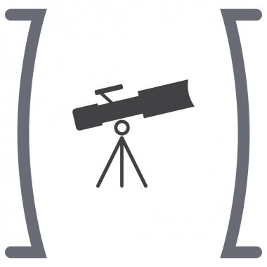 Astronomy optical instrument sign