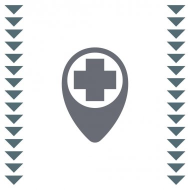 Street pin for first aid