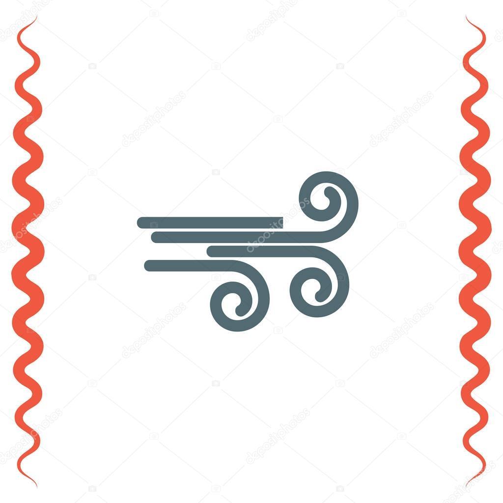 Air flow symbol
