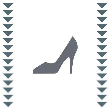 Female shoe icon