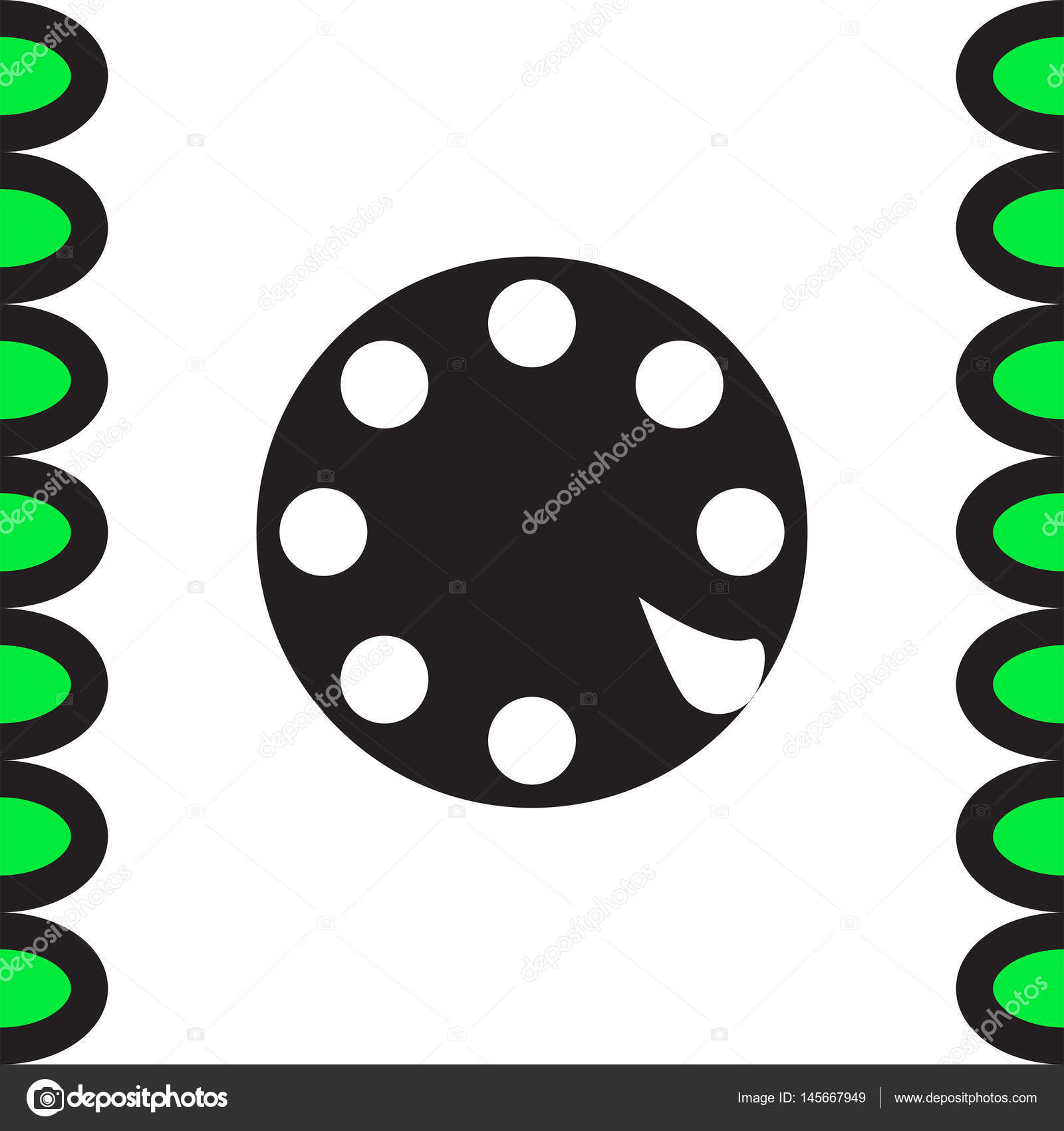 Rotary Phone Dial Stock Vector Quka 145667949