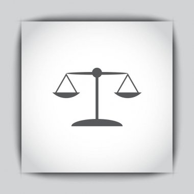 scales justice icon