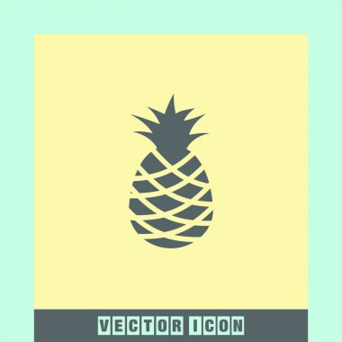 pineapple fruit  icon