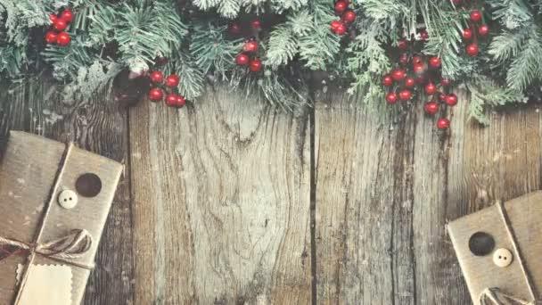 Christmas trees and ornaments. Lantern. Snowfall. Lights. Christmas New year. Gifts. Holiday