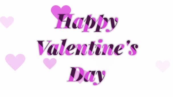 Boldog Valentin-napot Tipográfia és szív szimbólum