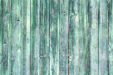 Wooden green texture with scratches and cracks