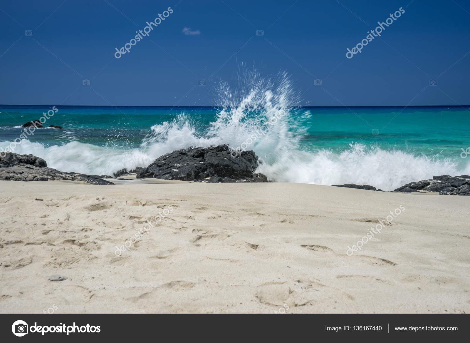 Manini Owali Beach Hawaii Stock Photo C Wpd911 136167440
