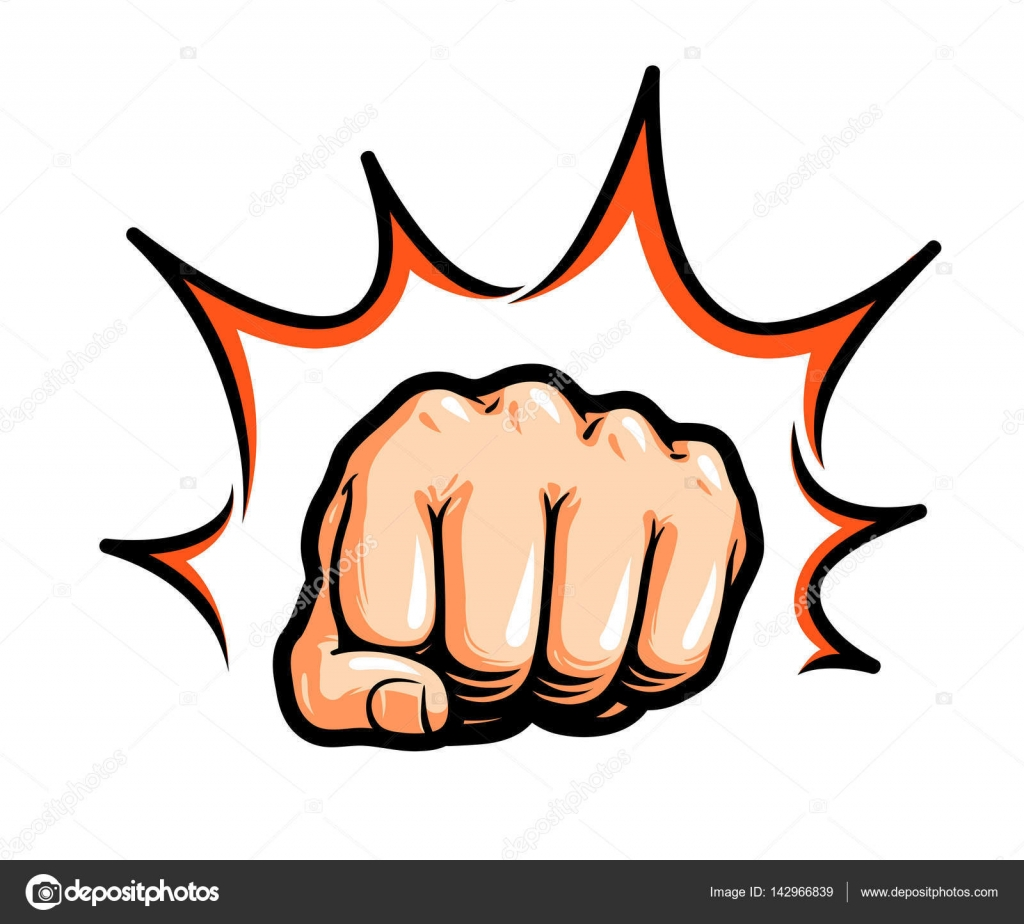 mano  pu u00f1o perforar o golpear c u00f3mic pop art  s u00edmbolo Offering Hands Clip Art Helping Hands Clip Art Other
