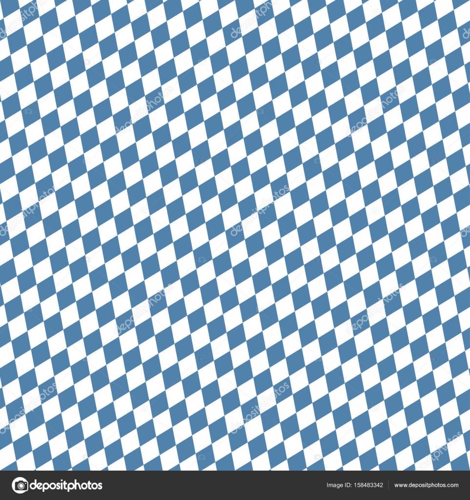 Nahtlose Blau Weiß Kariert Oktoberfest-Hintergrund