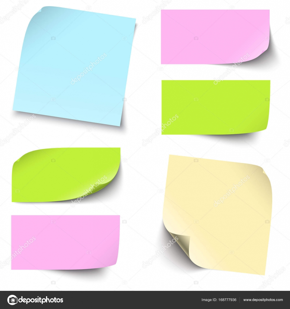 Colored sticky notes collection stock vector opicobello 168777936 collection of different colored sticky notes with shadow vector by opicobello jeuxipadfo Images