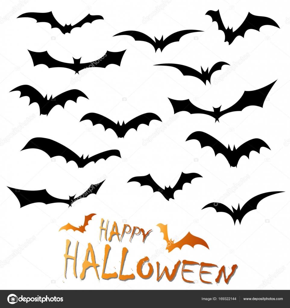 Dibujos Murcielagos De Halloween A Color Murciélagos De Halloween