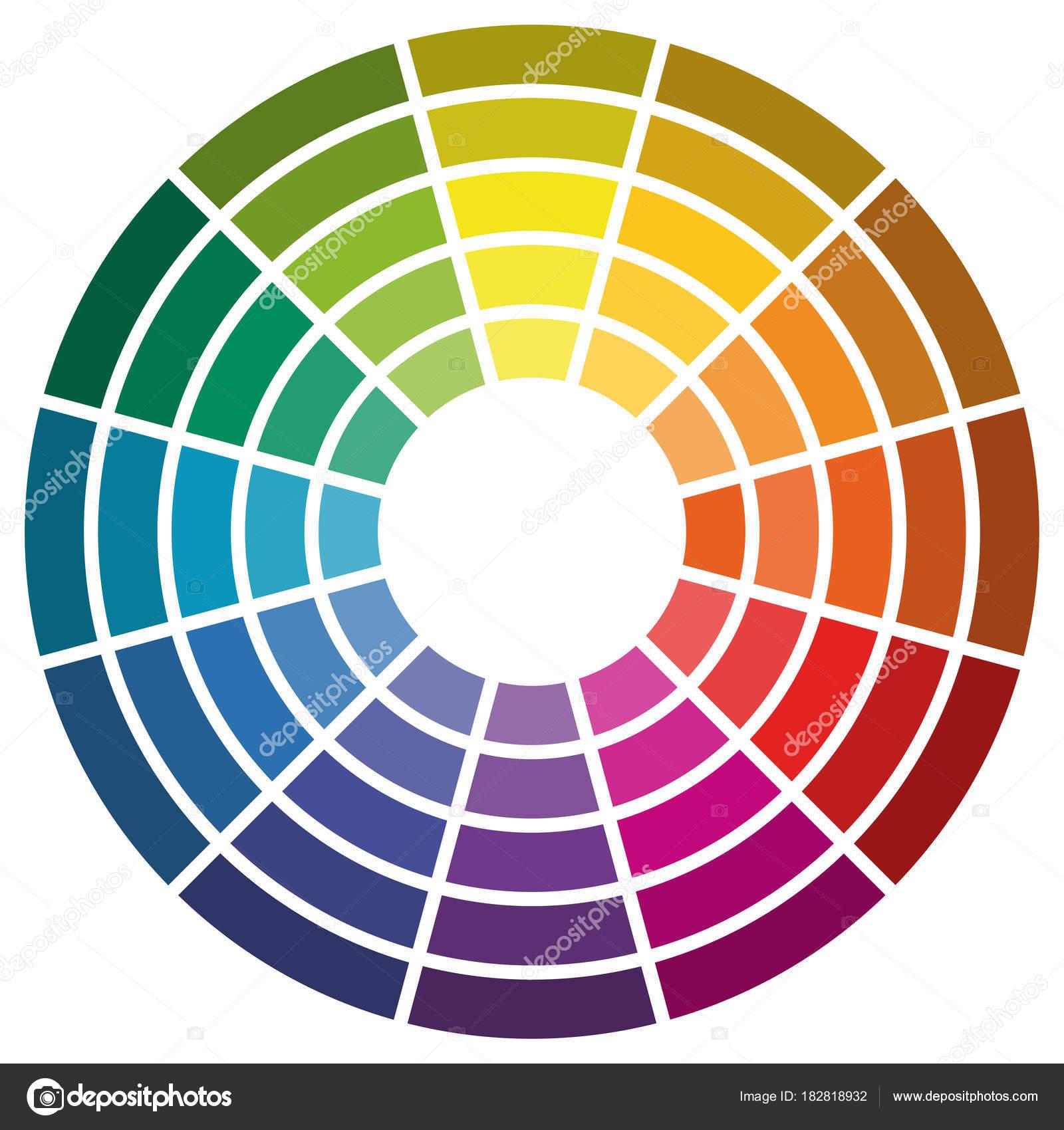 im genes rueda colores rueda de color con 12 colores vector de stock opicobello 182818932. Black Bedroom Furniture Sets. Home Design Ideas