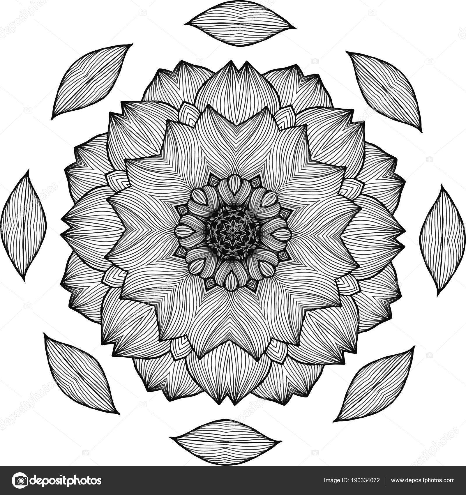 Imágenes La Flor De La Vida Para Imprimir Blanco Y Negro