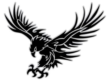 llustration of attacking Eagle