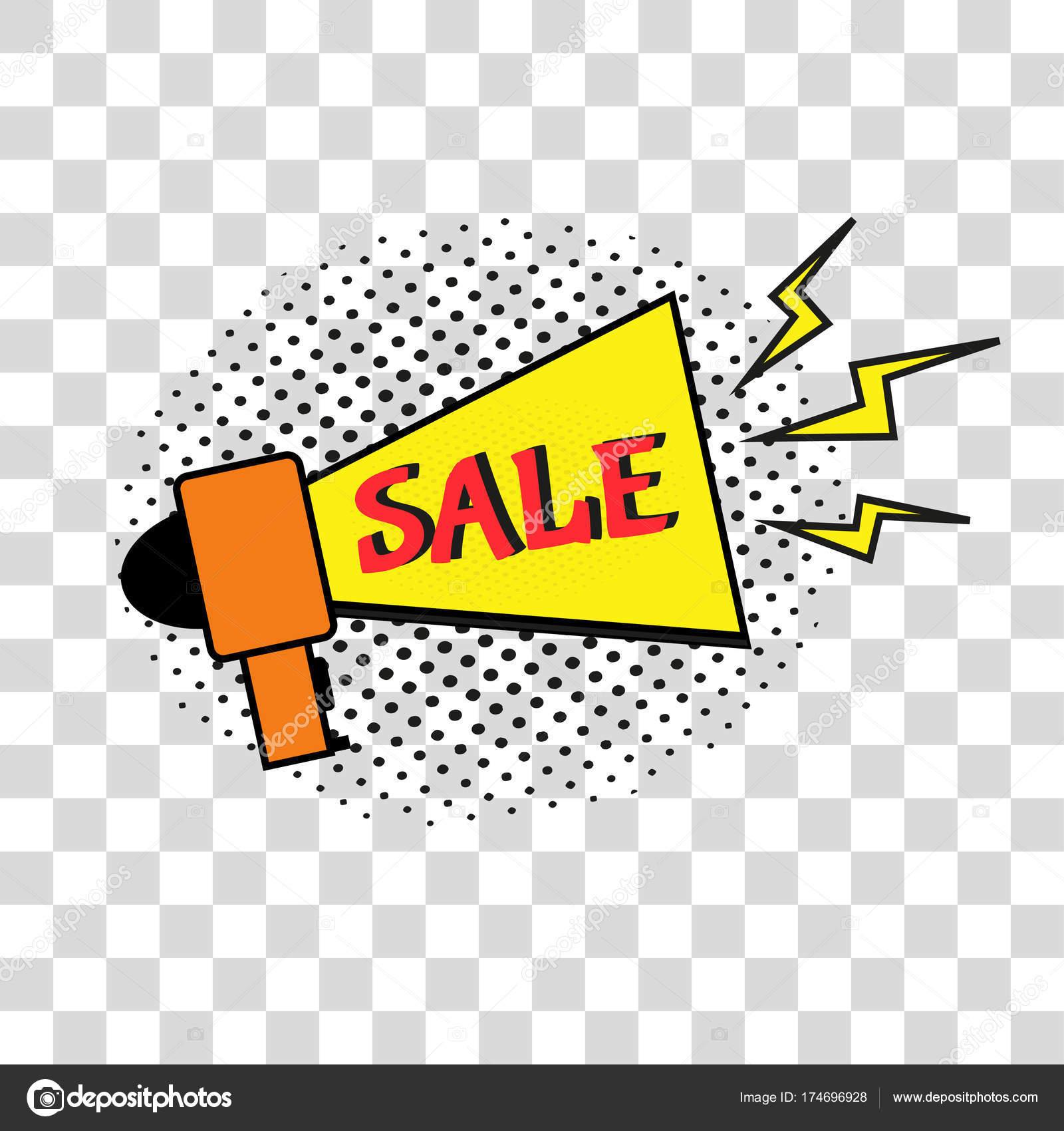 Verkauf Comic Text Sprache Promo Blase Satz Vektor Angebot Vorlage