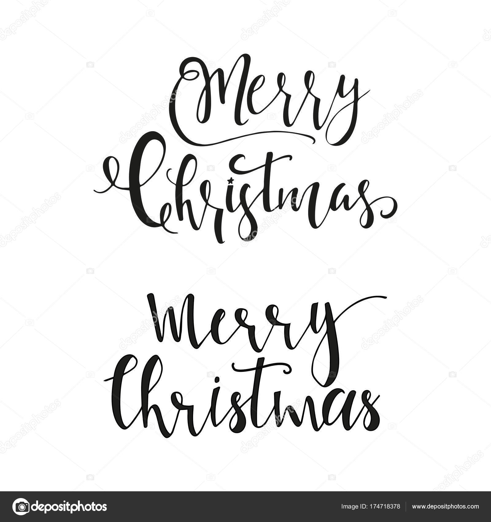 Wonderful Unique Handwritten Christmas Wishes Holiday Greeting Cards ...