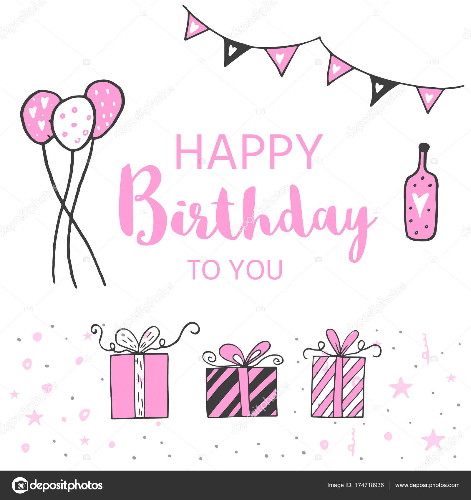 happy birthday invitation template