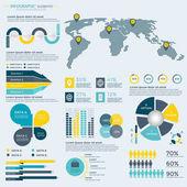 Business infographic šablona